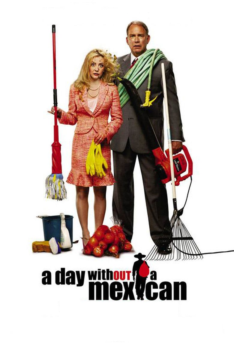 A Day Without a Mexican movie poster