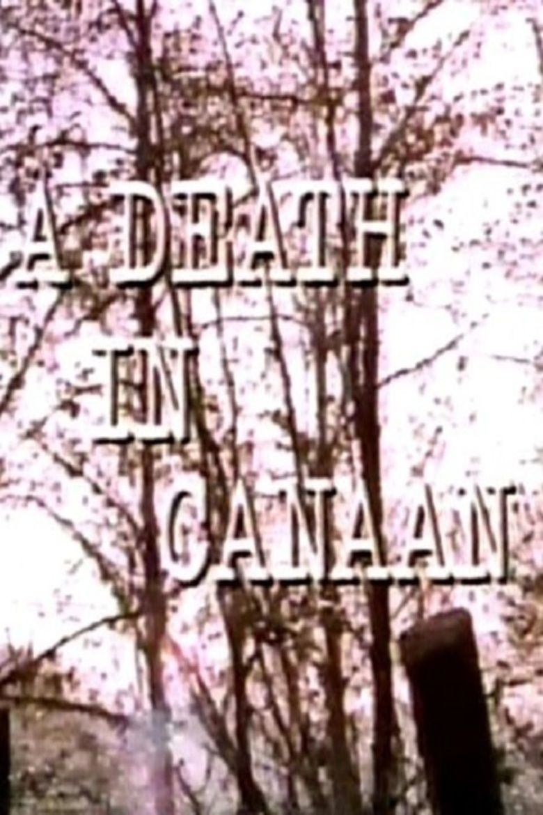 A Death in Canaan movie poster