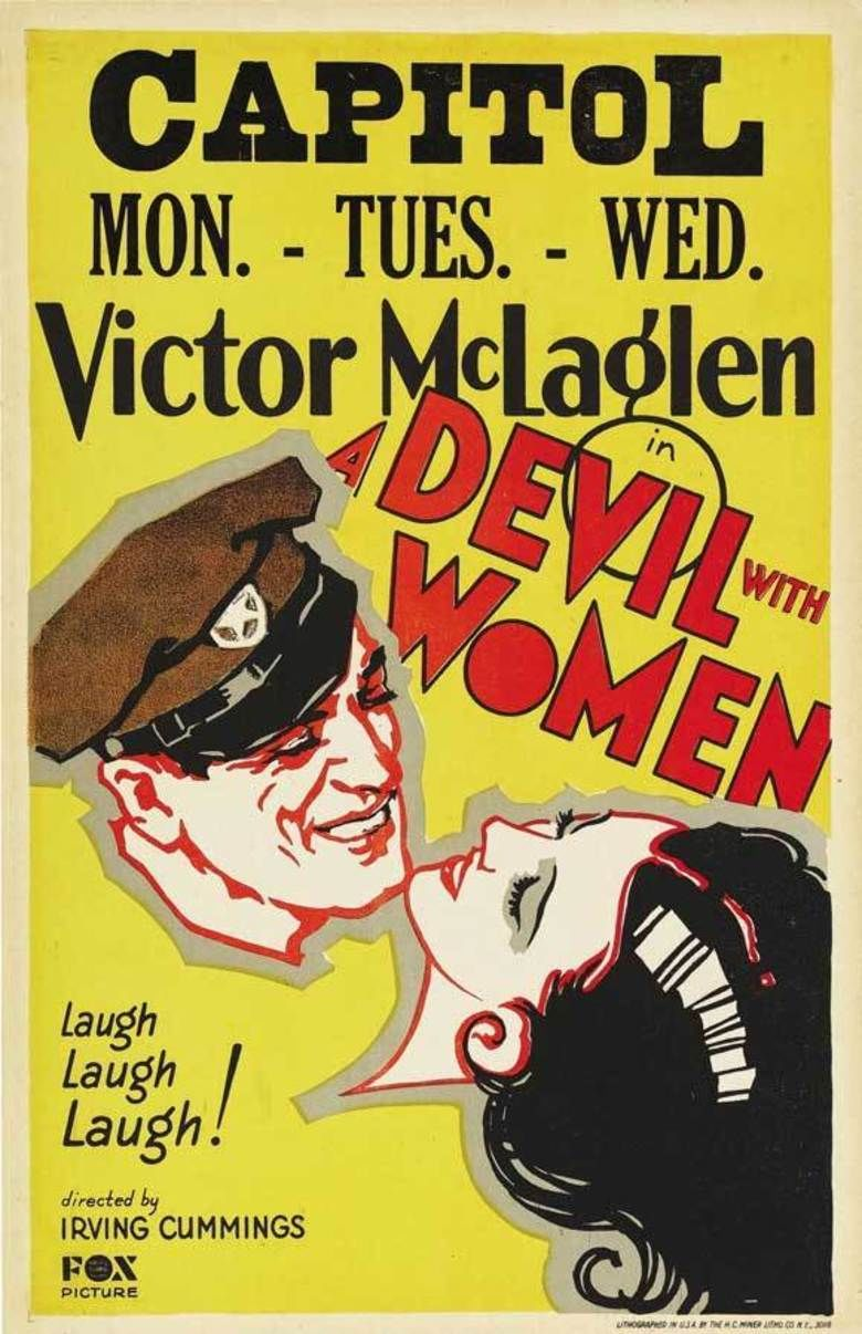 A Devil with Women movie poster