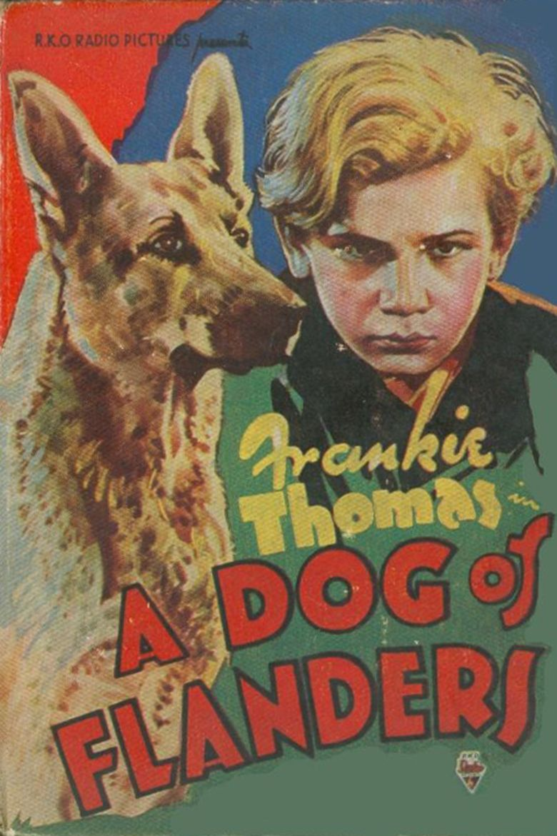 A Dog of Flanders (1935 film) movie poster