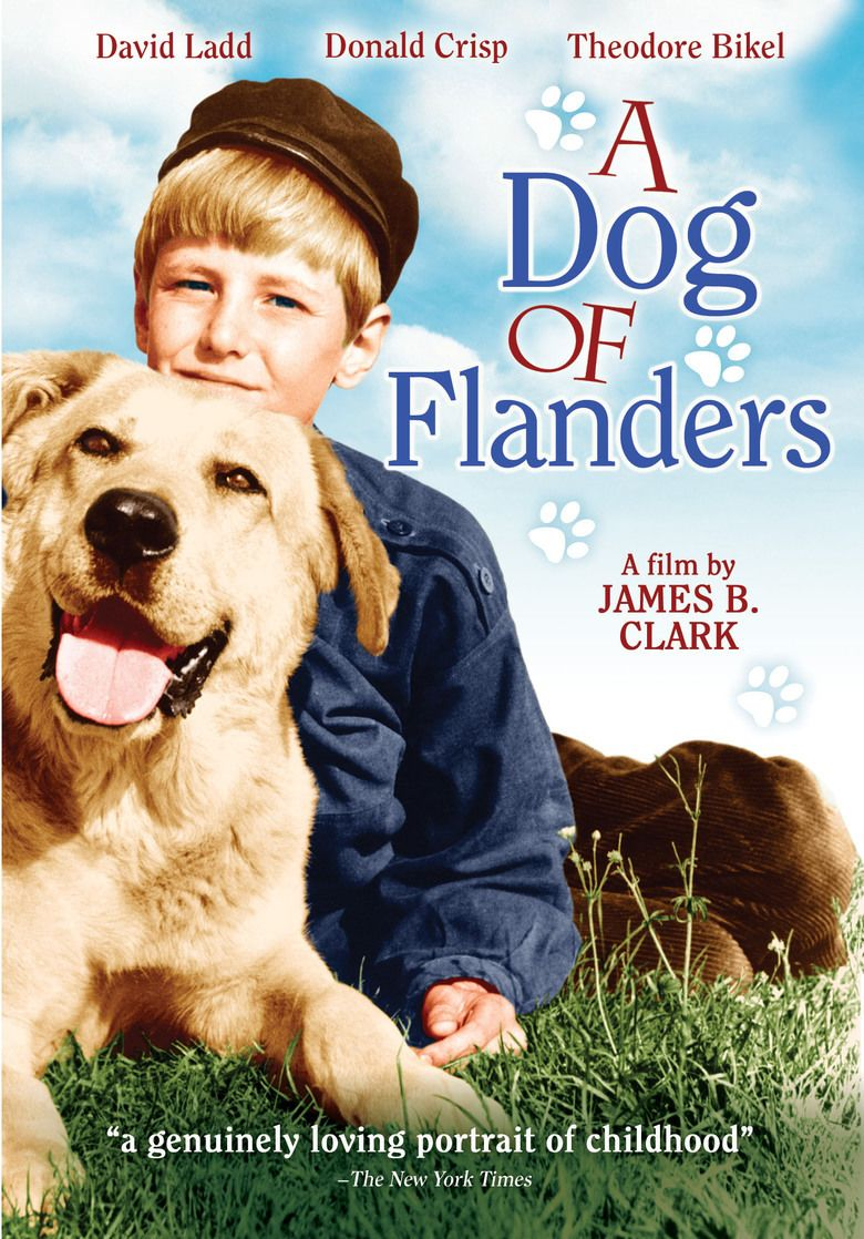 A Dog of Flanders (1960 film) movie poster