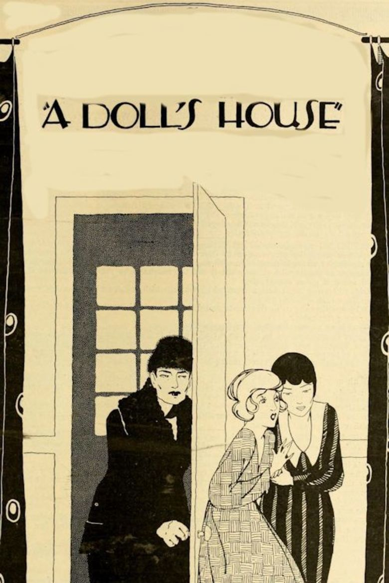 A Dolls House (1922 film) movie poster