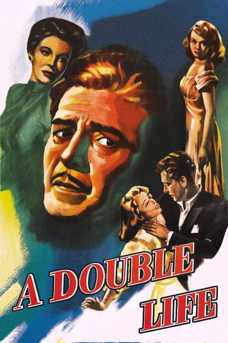 A Double Life movie poster