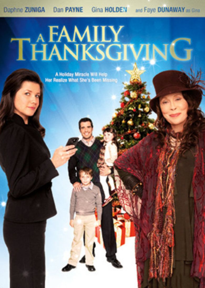 A Family Thanksgiving movie poster