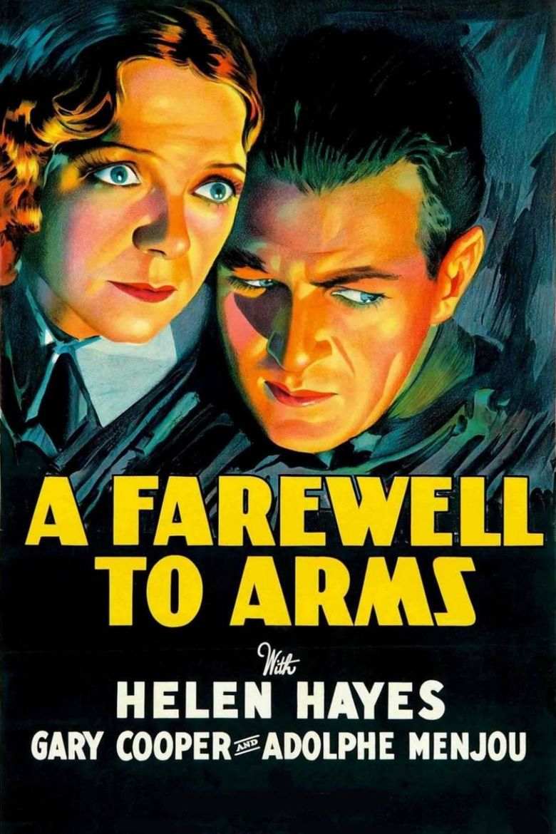 A Farewell to Arms (1932 film) movie poster
