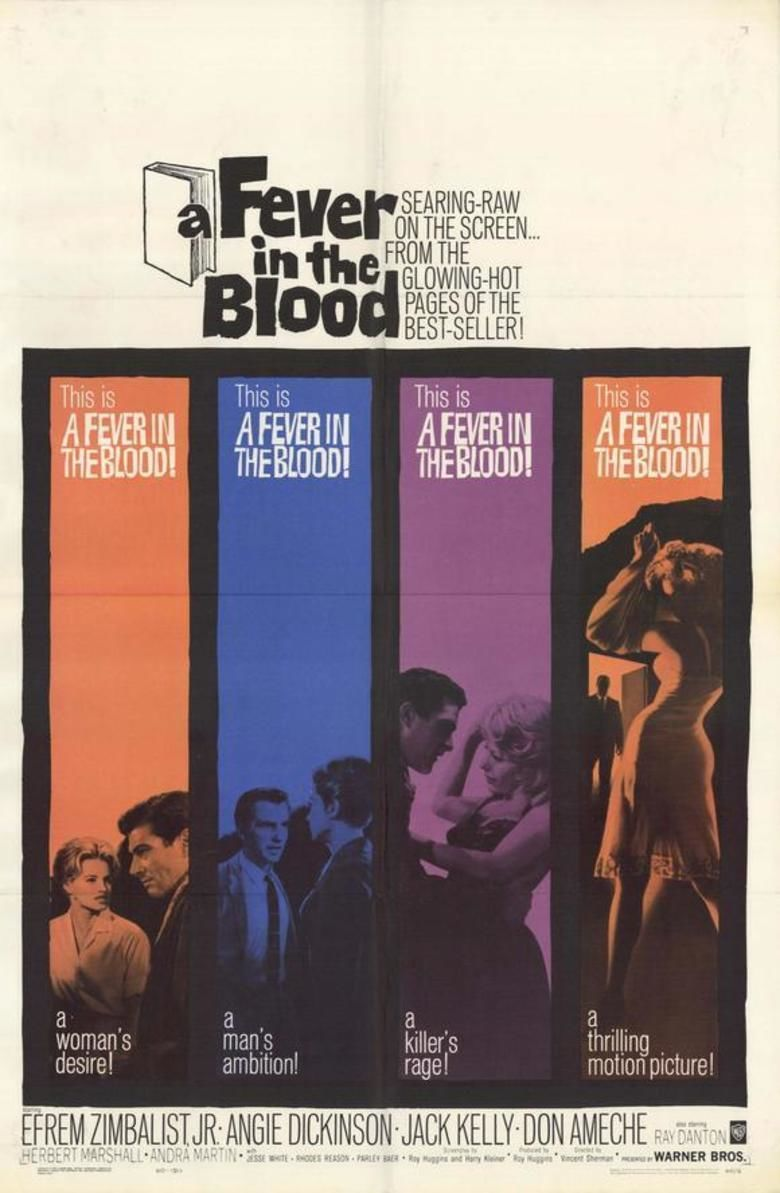 A Fever in the Blood movie poster
