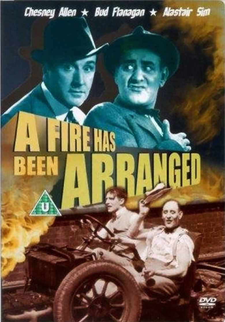 A Fire Has Been Arranged movie poster