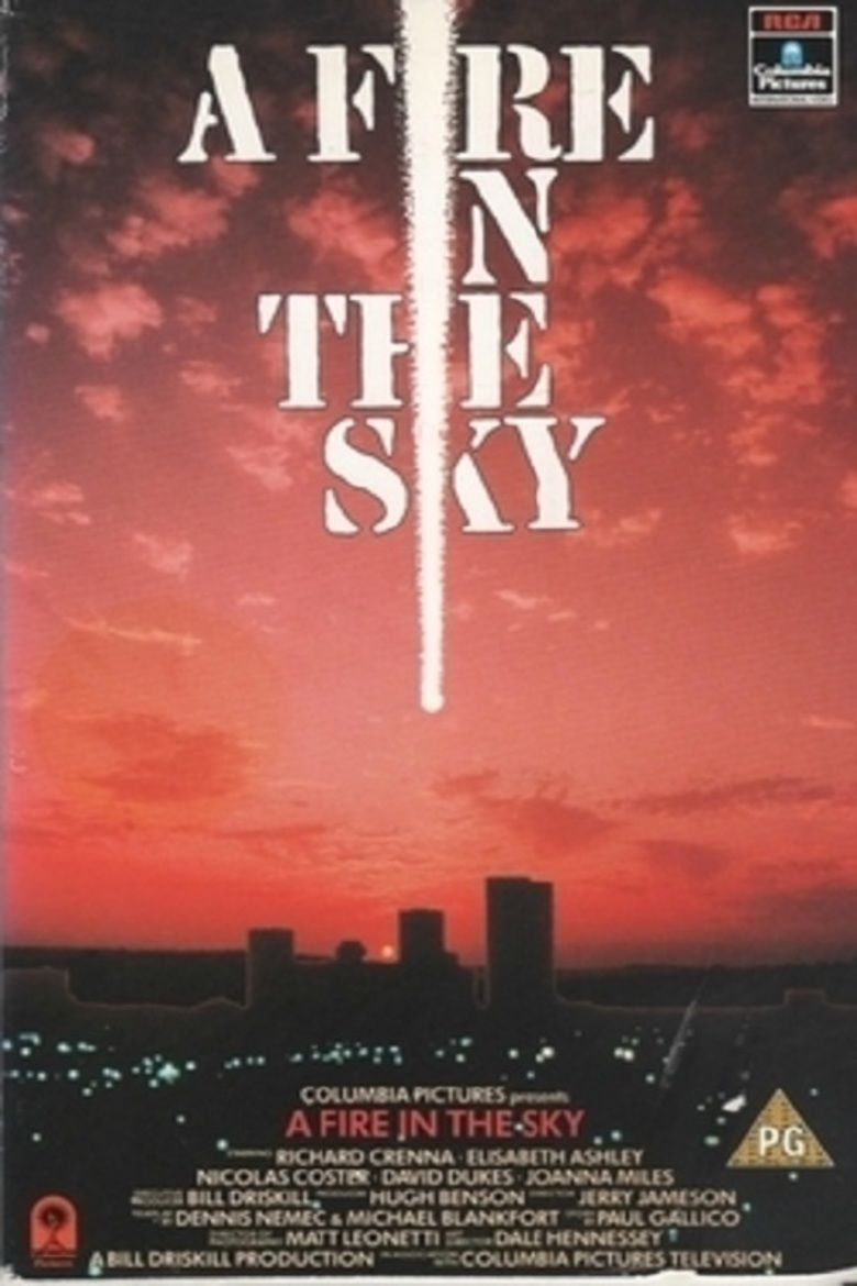 A Fire in the Sky movie poster
