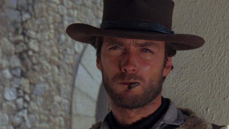 A Fistful of Dollars movie scenes