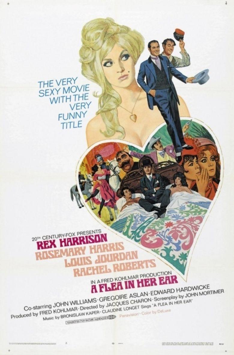 A Flea in Her Ear (film) movie poster