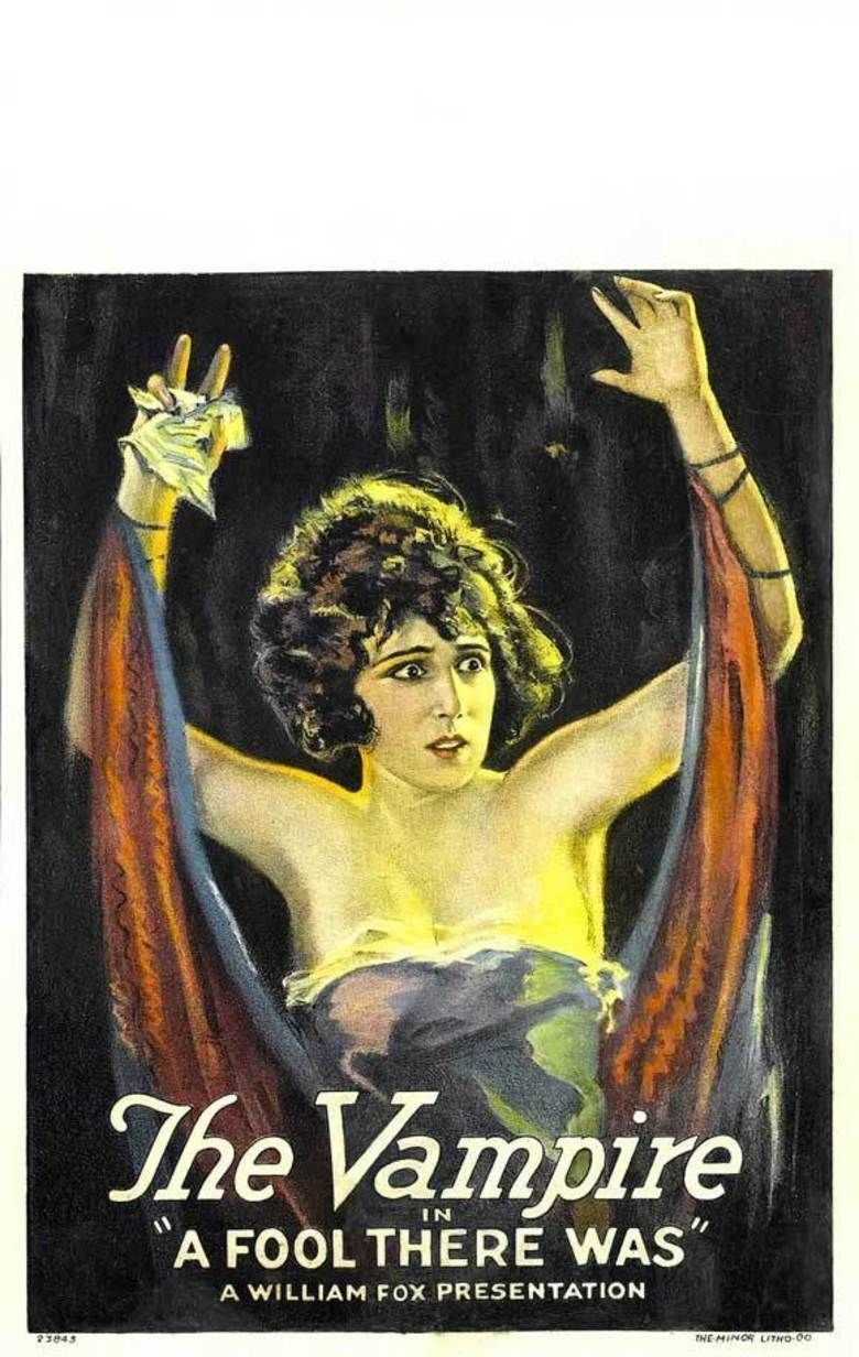 A Fool There Was (1915 film) movie poster