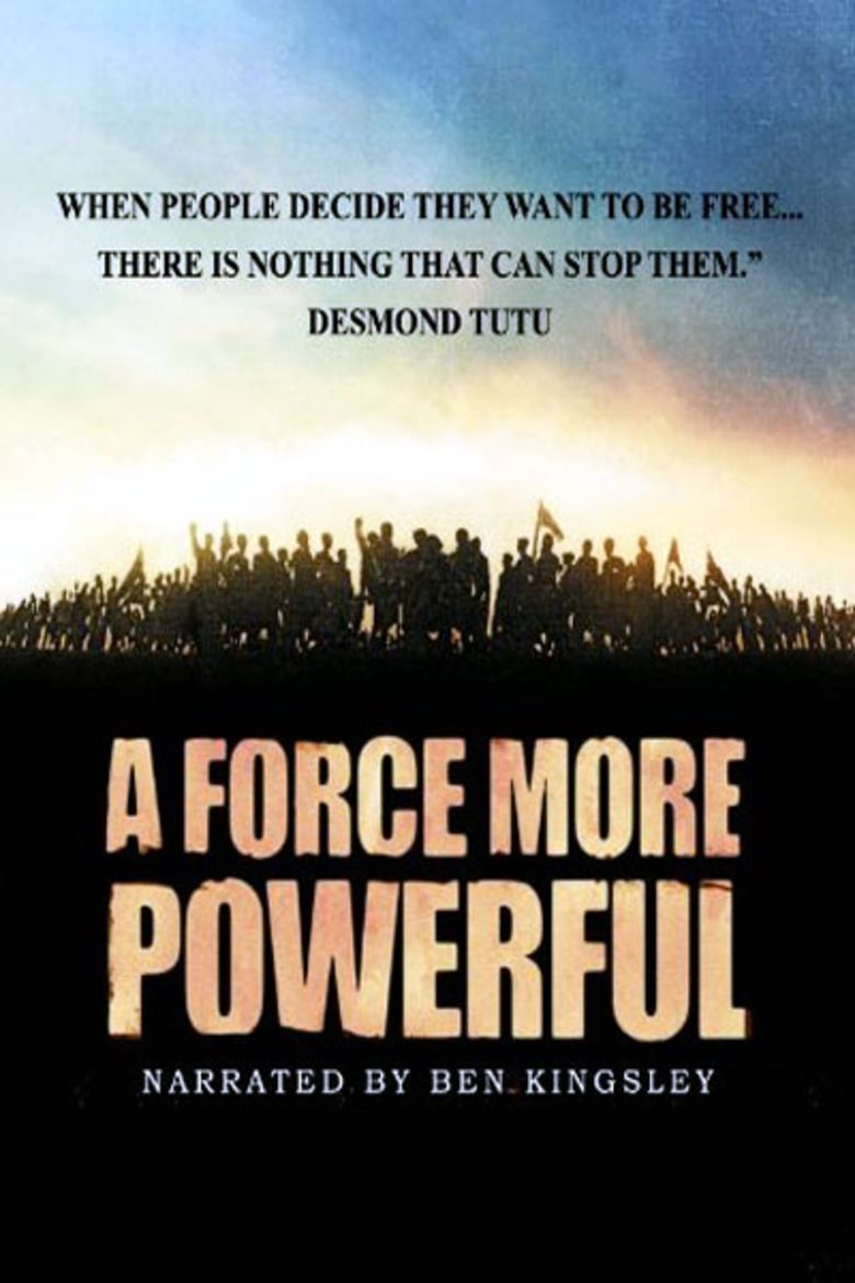 A Force More Powerful movie poster