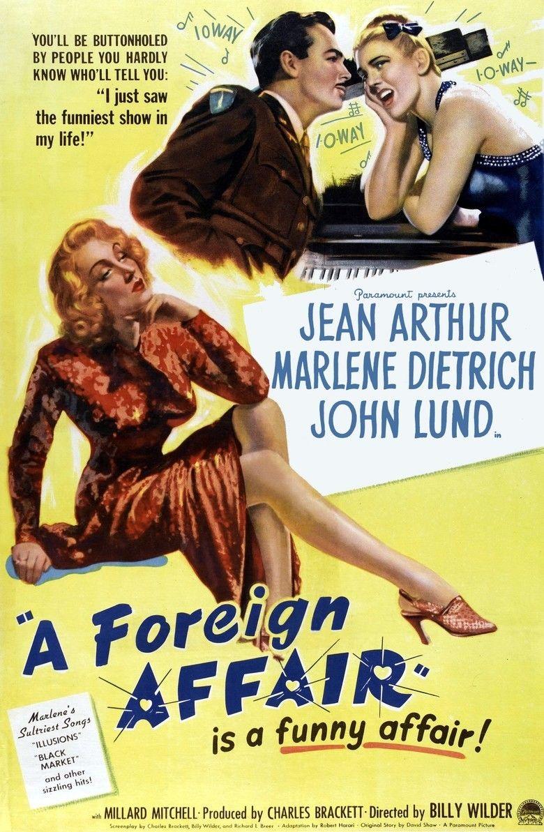 A Foreign Affair movie poster