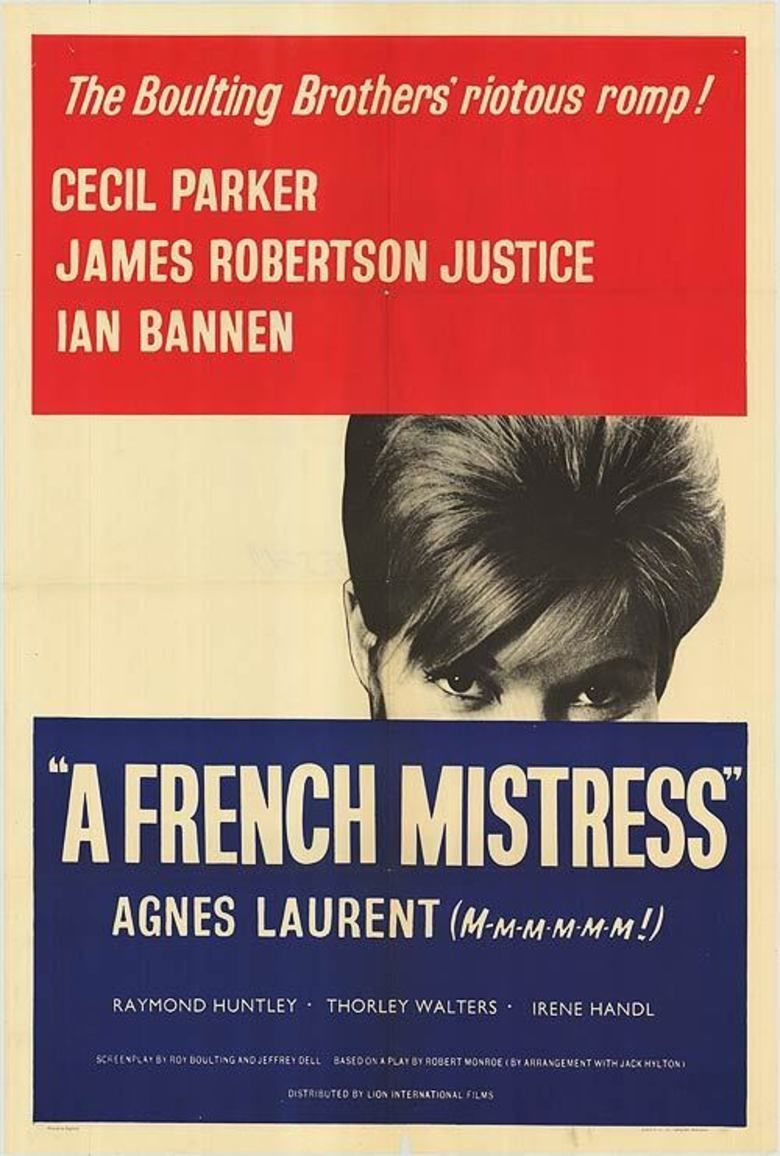 A French Mistress movie poster