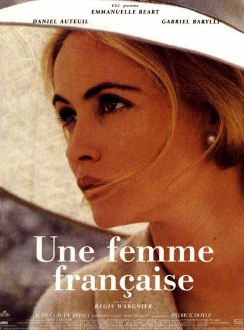 A French Woman movie poster