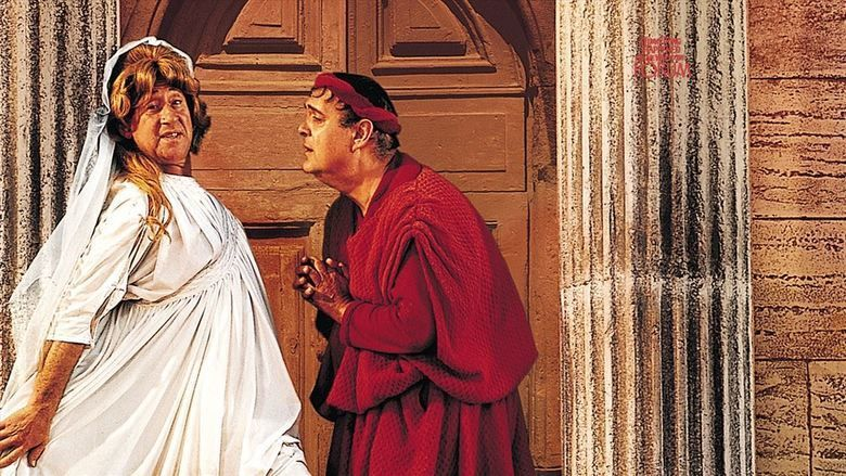 A Funny Thing Happened on the Way to the Forum (film) movie scenes