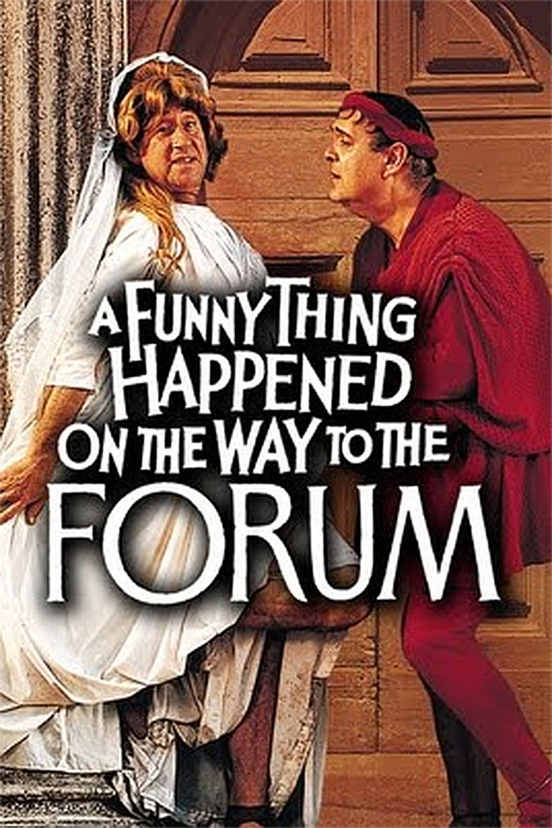 A Funny Thing Happened on the Way to the Forum (film) movie poster