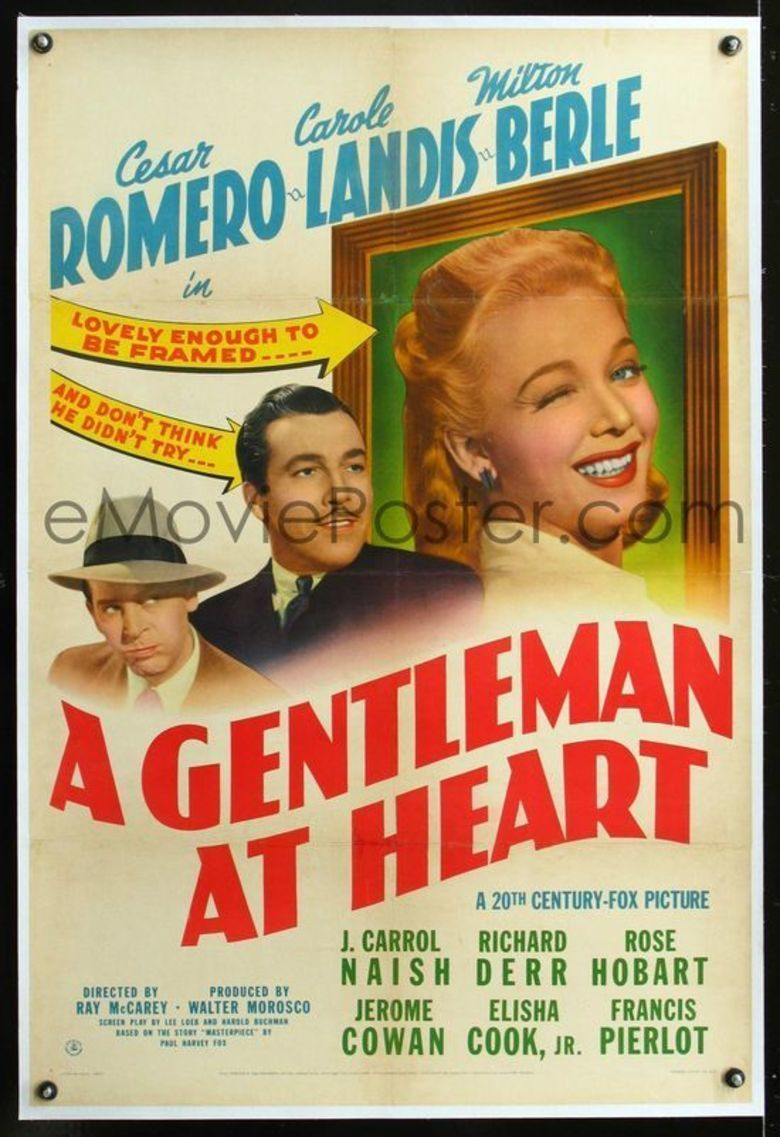 A Gentleman at Heart movie poster