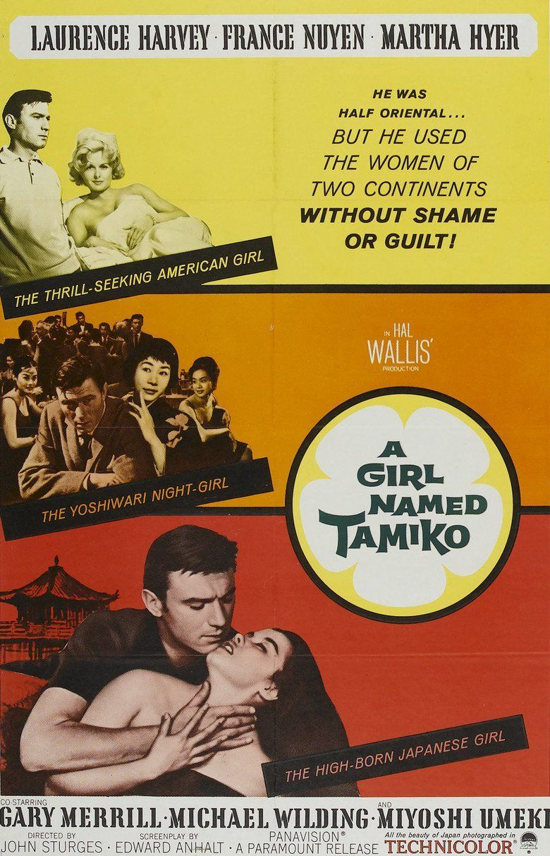A Girl Named Tamiko movie poster