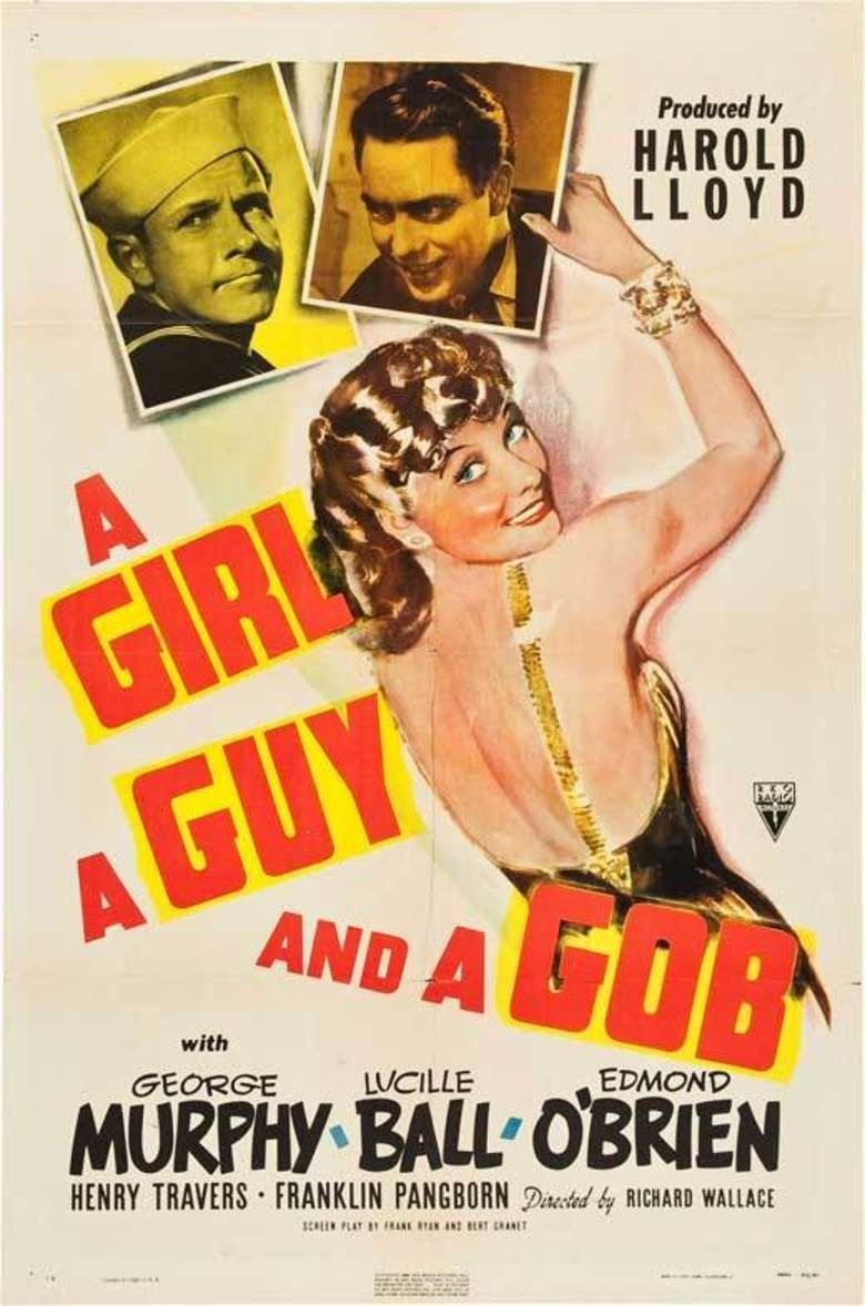 A Girl, a Guy and a Gob movie poster