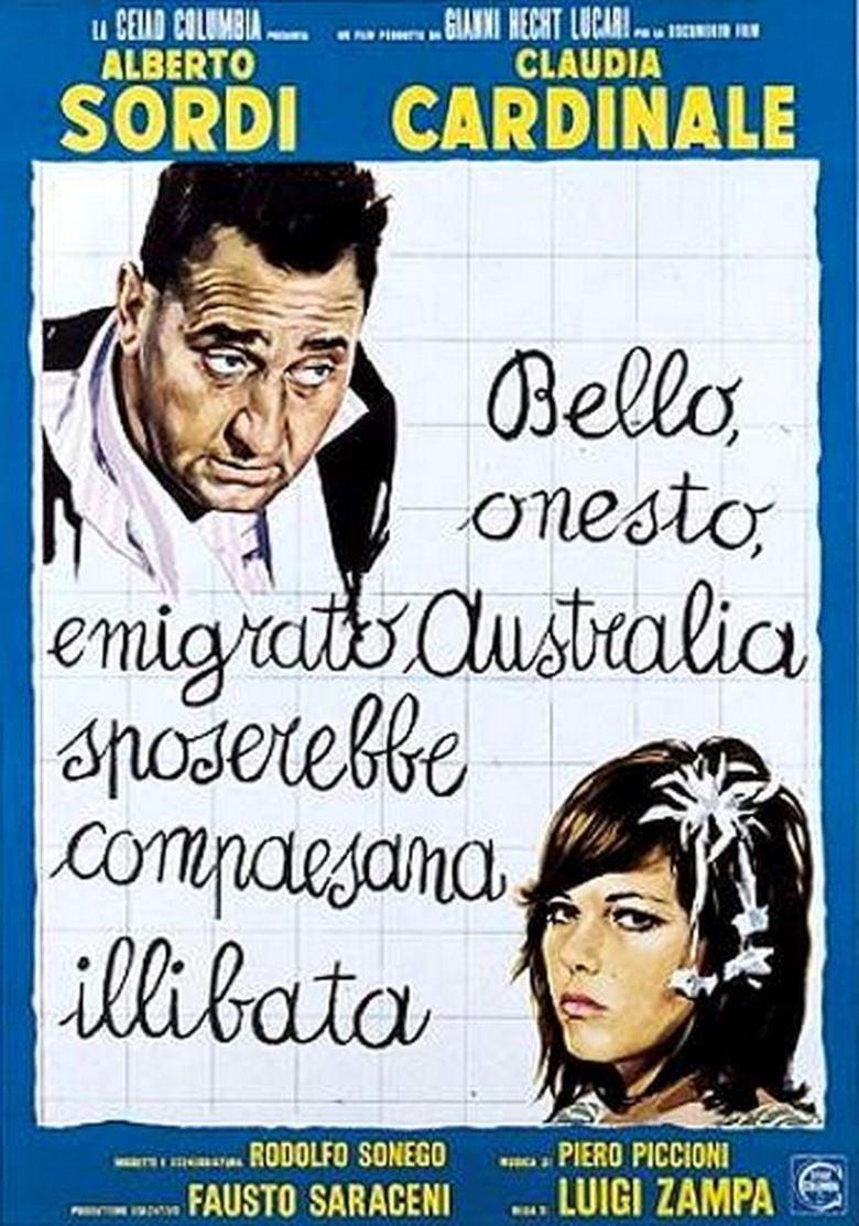 A Girl in Australia movie poster
