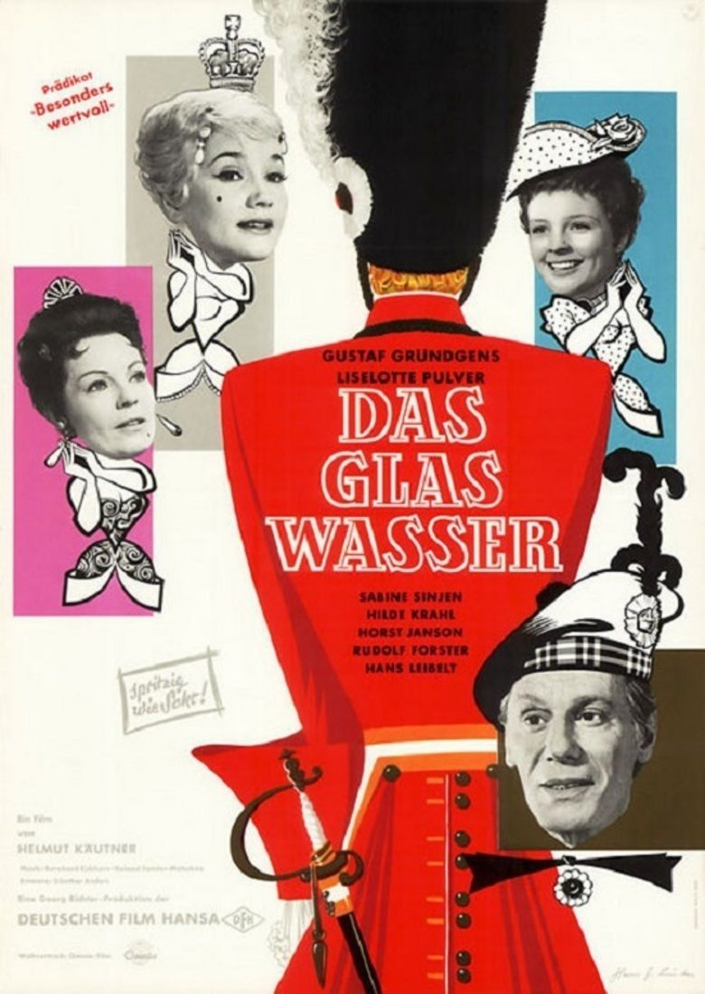 A Glass of Water (1960 film) movie poster
