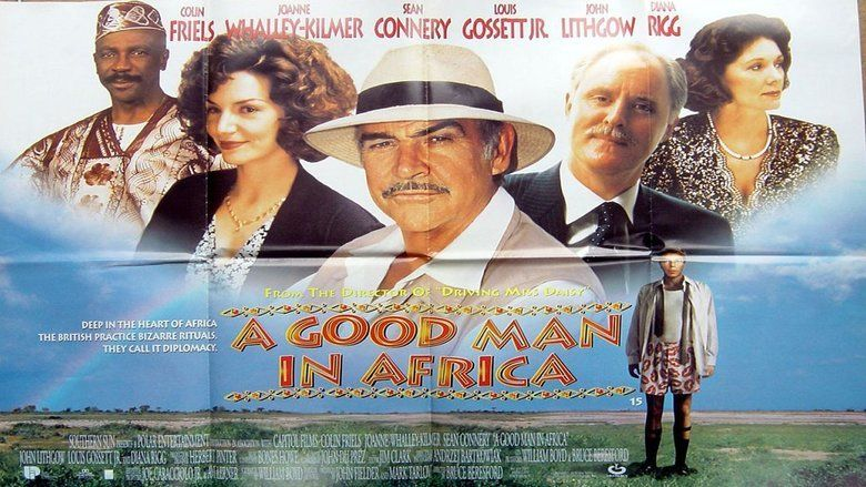 A Good Man in Africa movie scenes