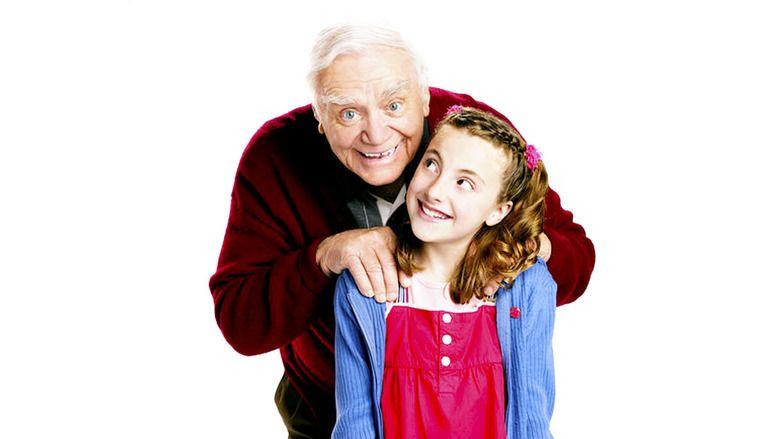 A Grandpa for Christmas movie scenes