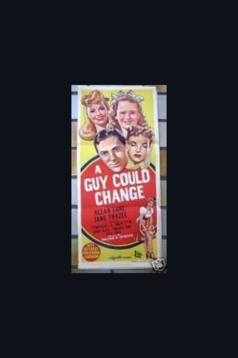 A Guy Could Change movie poster