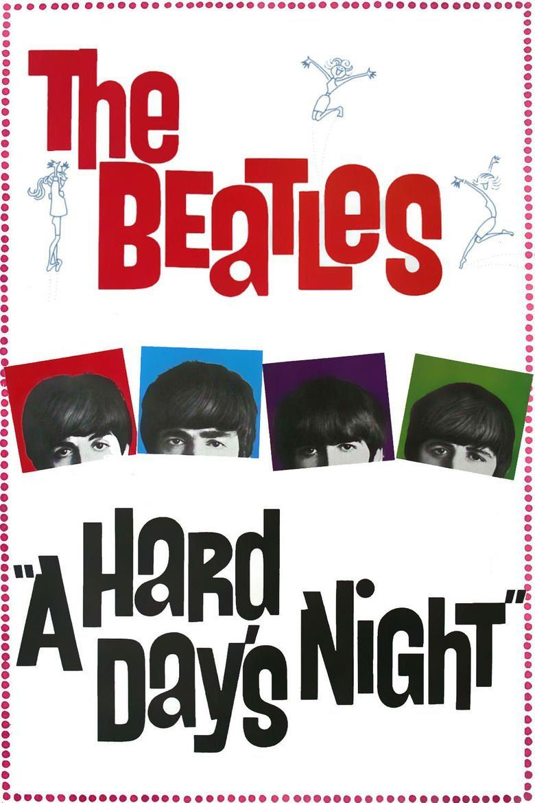 A Hard Days Night (film) movie poster