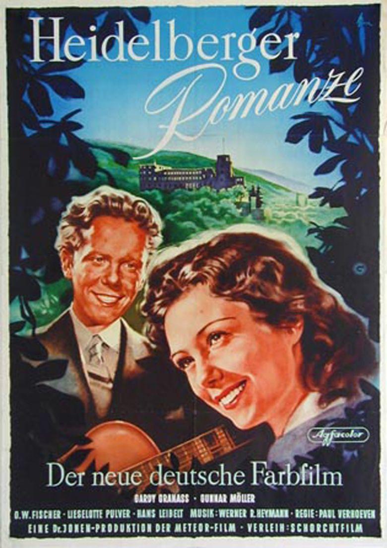 A Heidelberg Romance movie poster