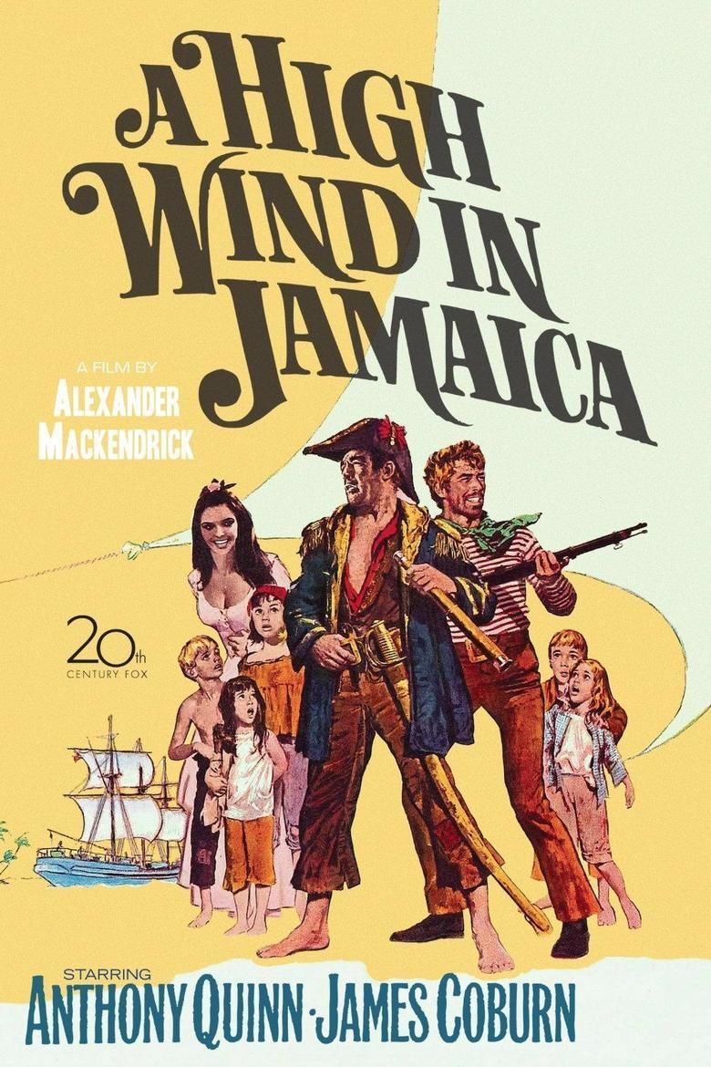 A High Wind in Jamaica (film) movie poster