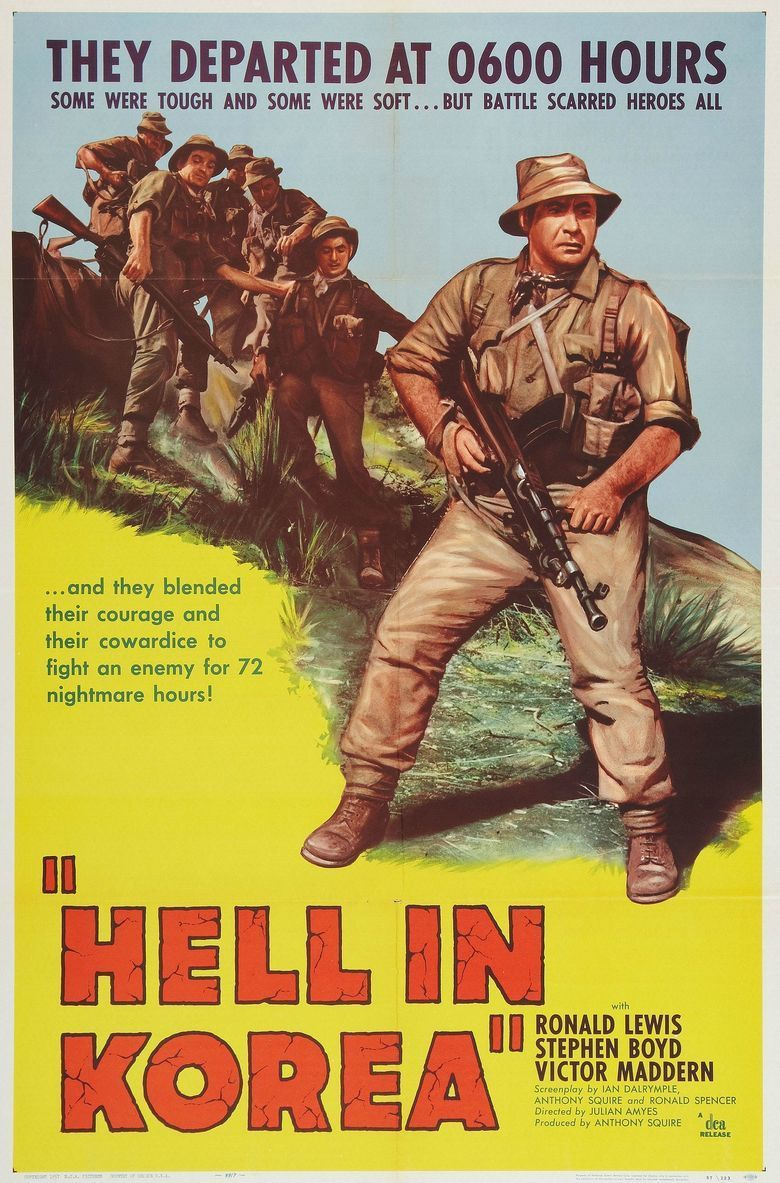 A Hill in Korea movie poster