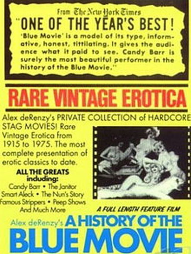 A History of the Blue Movie movie poster