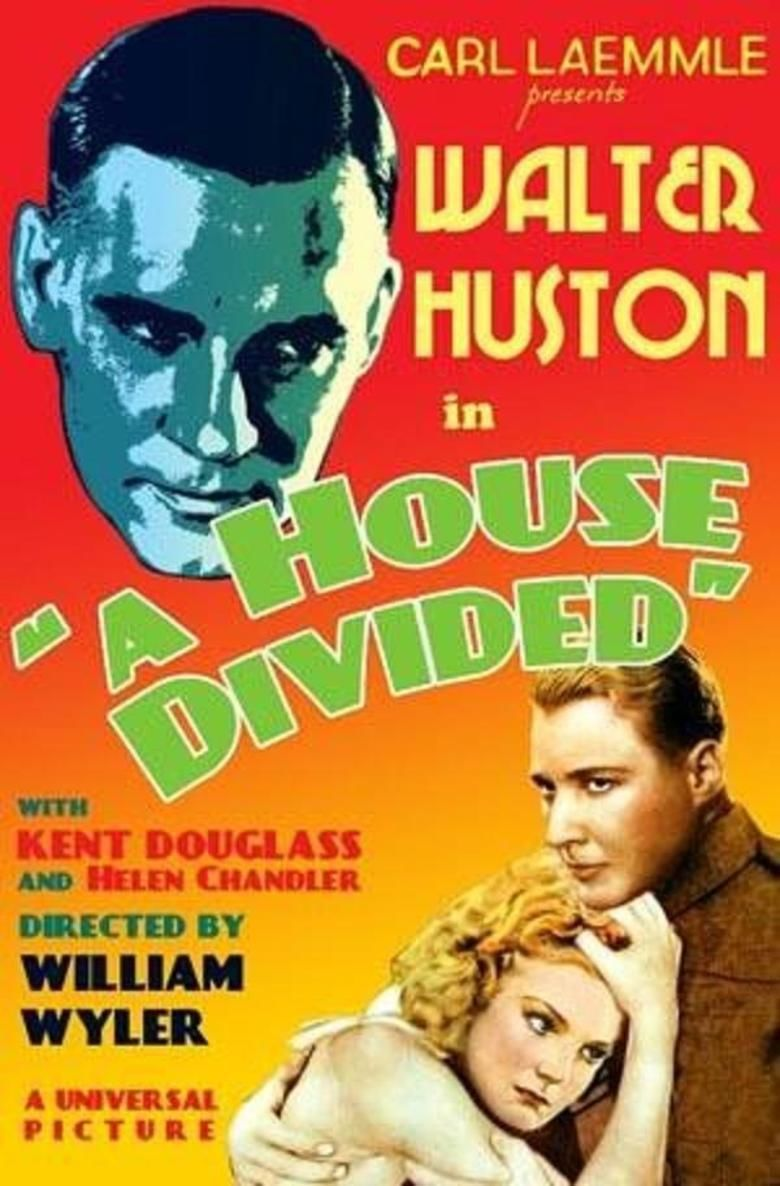 A House Divided (1931 film) movie poster