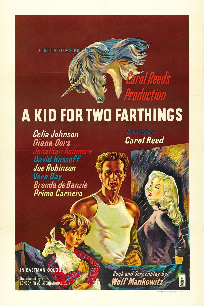 A Kid for Two Farthings (film) movie poster