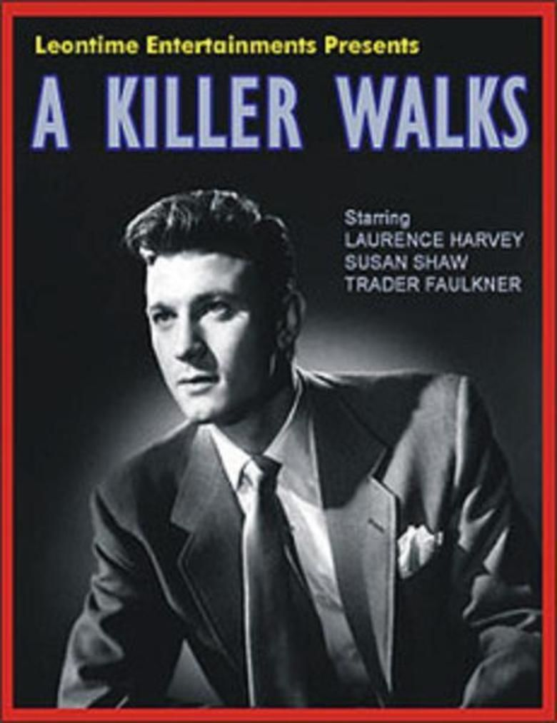 A Killer Walks movie poster