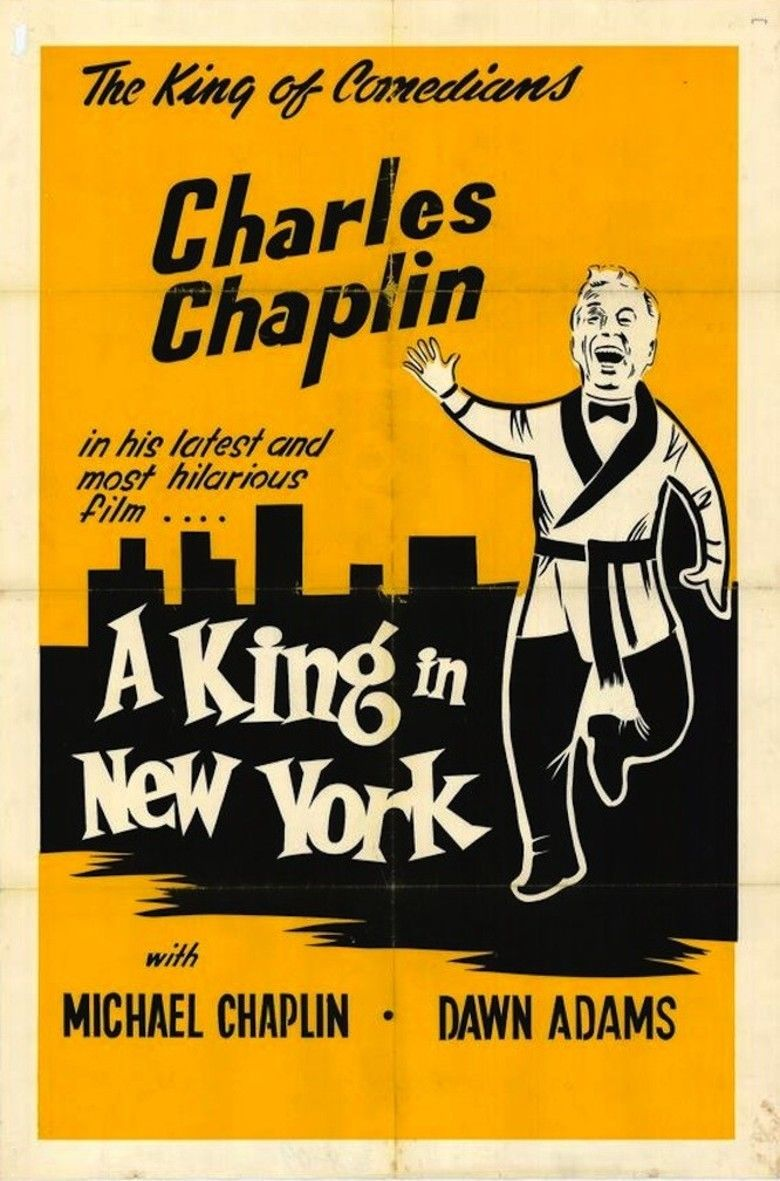 A King in New York movie poster