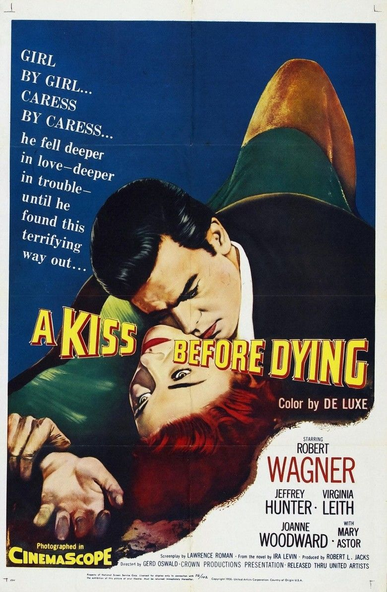 A Kiss Before Dying (1956 film) movie poster