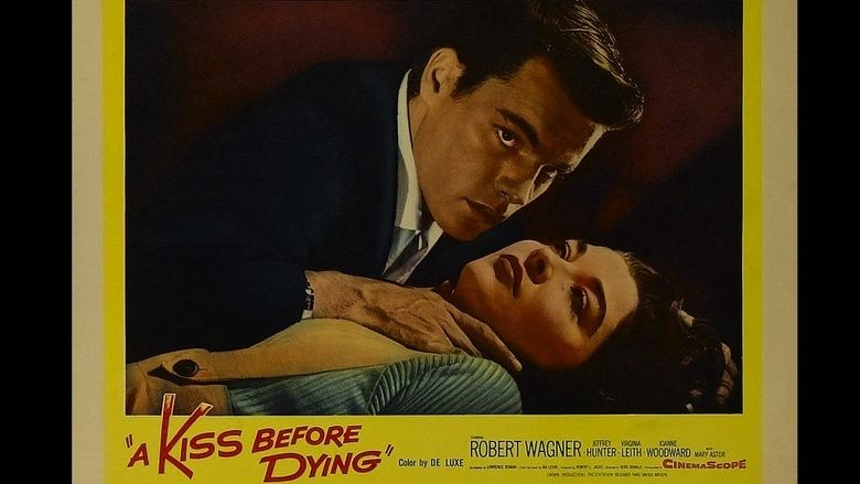A Kiss Before Dying (1956 film) movie scenes