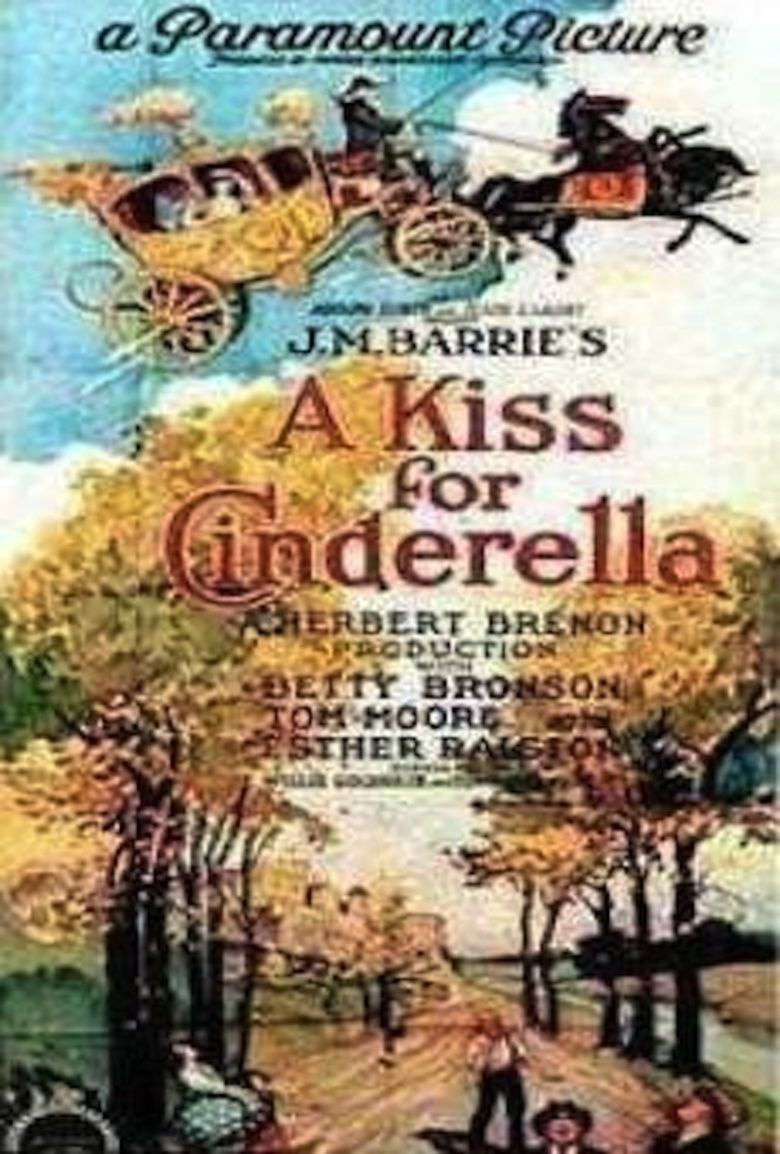 A Kiss for Cinderella (film) movie poster