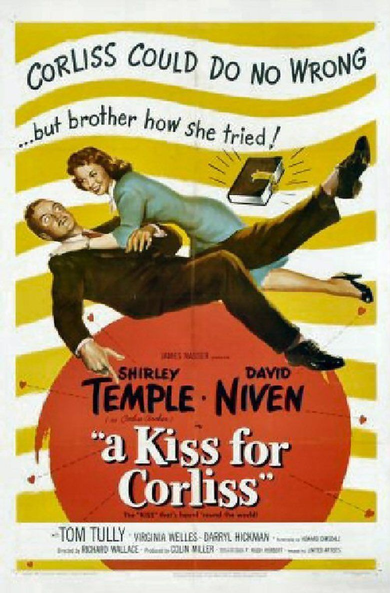 A Kiss for Corliss movie poster