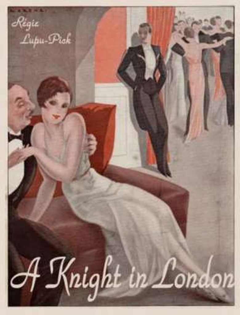 A Knight in London movie poster