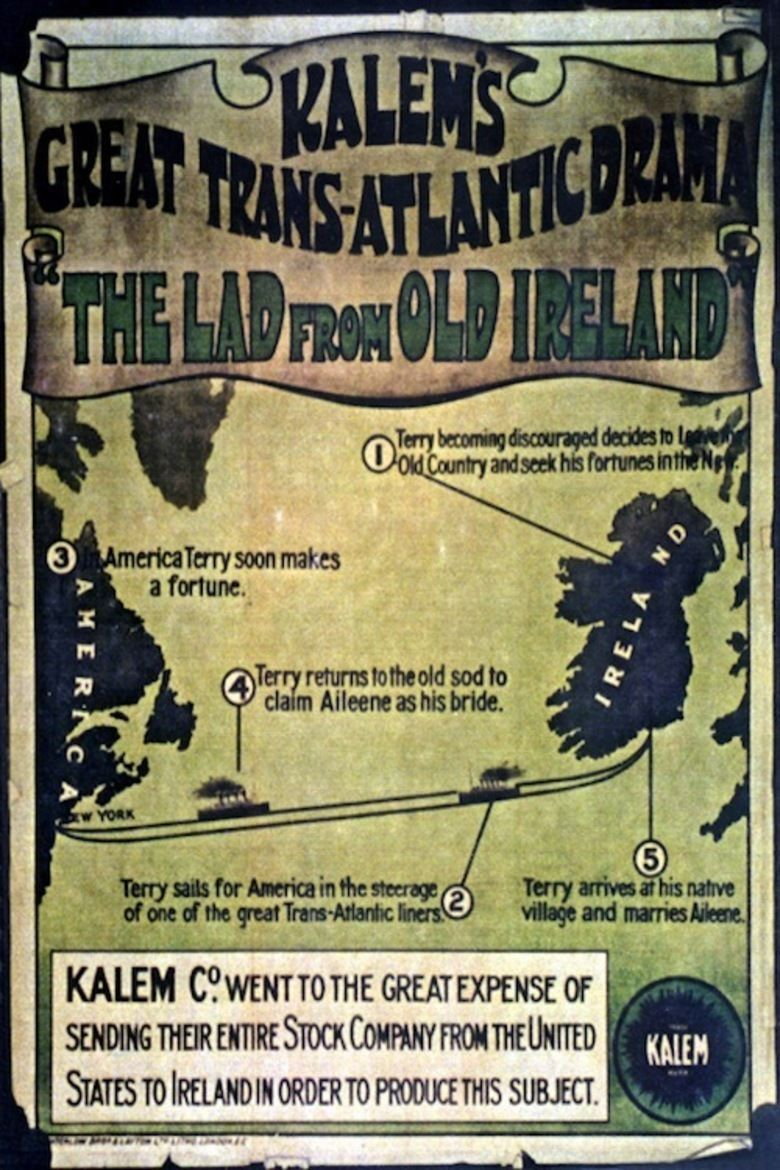 A Lad from Old Ireland movie poster