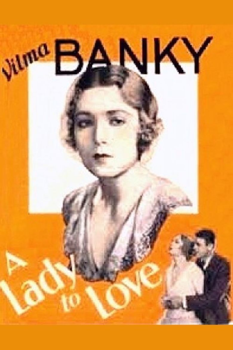 A Lady to Love movie poster
