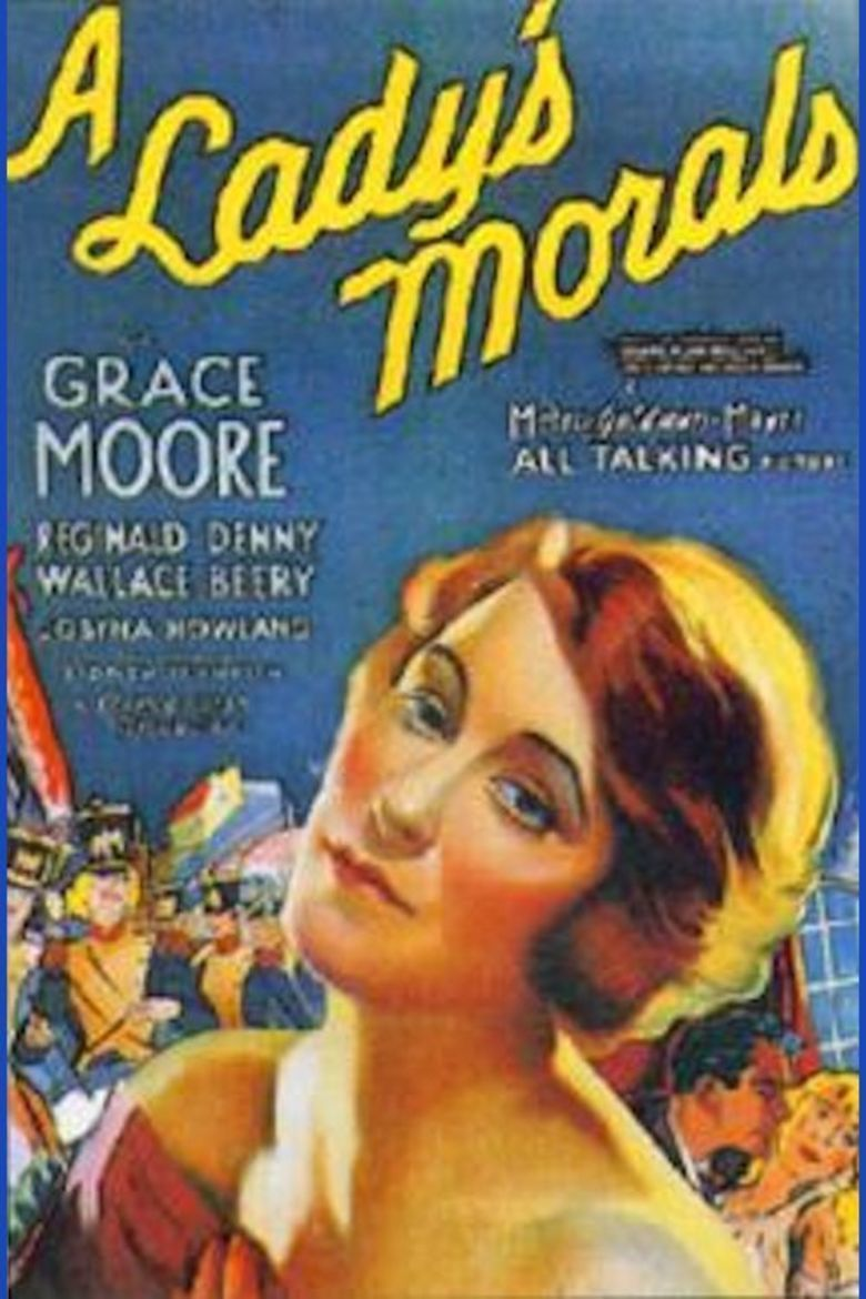 A Ladys Morals movie poster