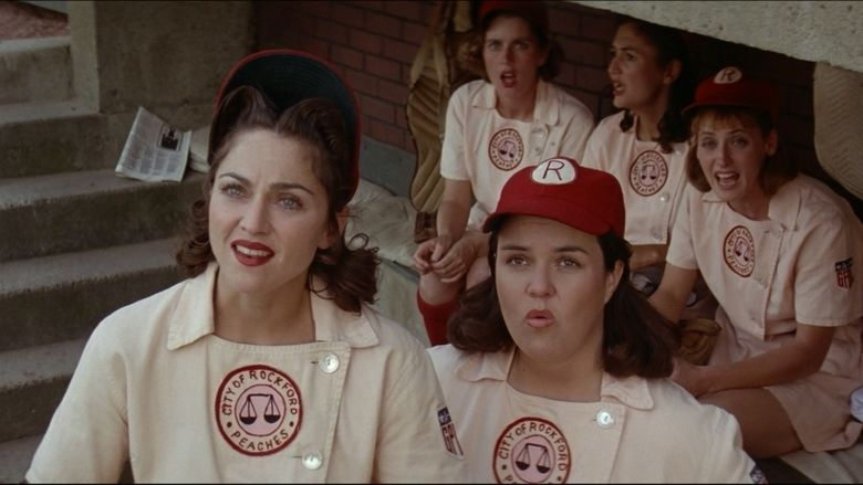 A League of Their Own movie scenes