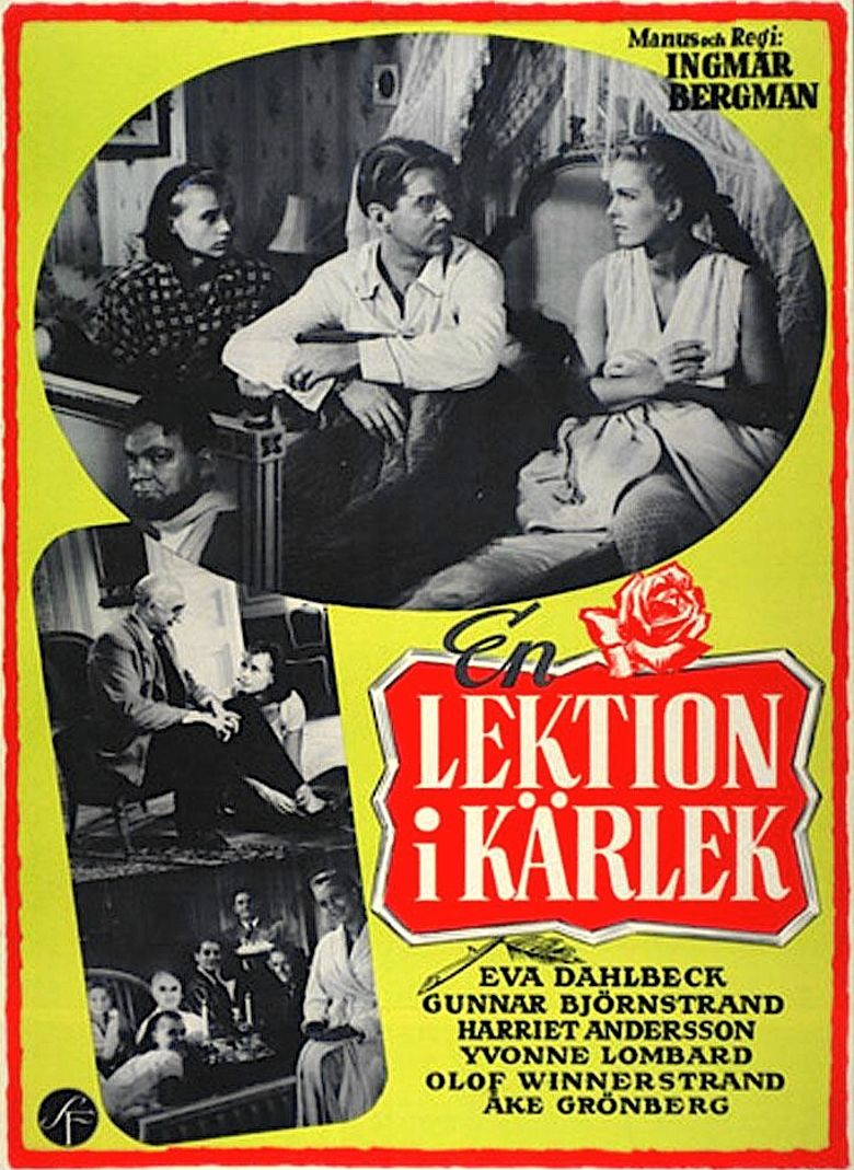A Lesson in Love movie poster