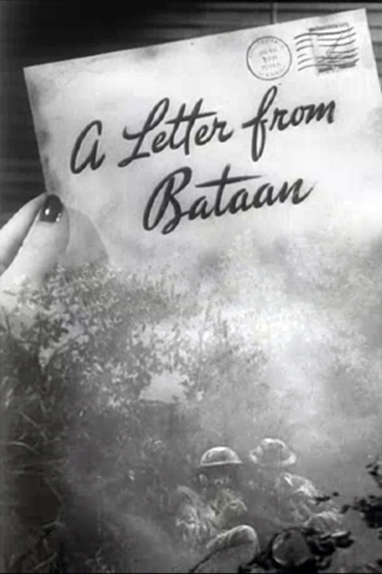 A Letter from Bataan movie poster