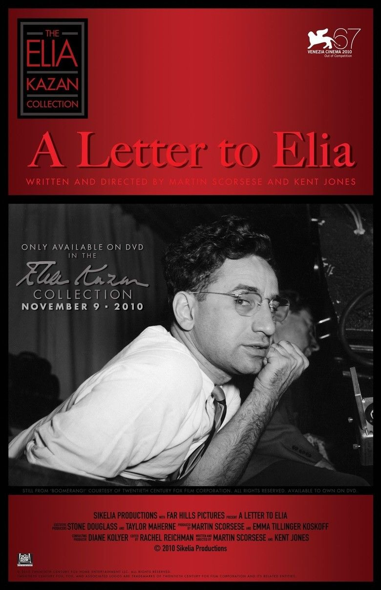 A Letter to Elia movie poster